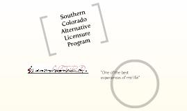 Copy of Southern Colorado Teacher in Residence Program