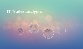 IT Trailer analysis