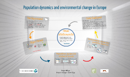 Population dynamics and environmental change in Europe