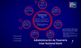 Servicios para Administración de Tesorería de INB