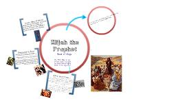Copy of Elijah the Prophet