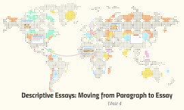 Descriptive Essays: Moving from Paragraph to Essay