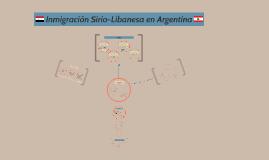 Inmigración Sirio-Libanesa en Argentina