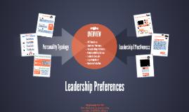 Leadership Personality