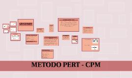 Copy of METODO PERT- CPM