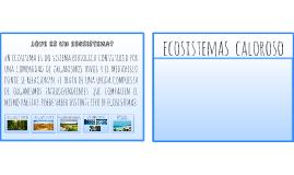 ECOSISTEMAS FRIOS