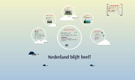Aardrijkskunde - Nieuwe kaart van Nederland