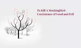 coexistence of good and evil in to kill a mockingbird Good and evil- two elements which have opposing meanings of one another in this novel, lee portrays the fact that everyone and everything, no matter who they are, where they come from, or what they do, are, or will face some sort of good in their life, along with some sort of evil.
