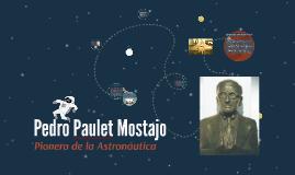 Pedro Paulet Mostajo