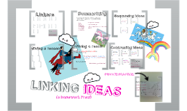 Linking ideas