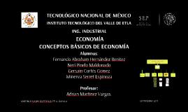 Conceptos básicos de la economia