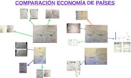 COMPARACIÓN ECONOMÍA DE PAÍSES