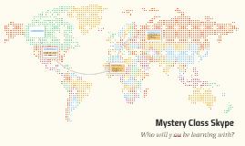 Mystery Class Skype