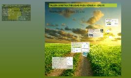 Copy of TALLER CONSTRUCTIBILIDAD POZO VENUS 3 - CPO.11