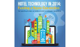 Lodging Tech Study 2014