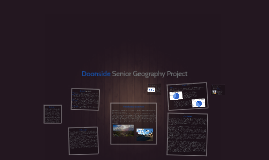 Doonside Senior Geography Project