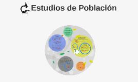 Estudios de Población
