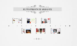 EL TEATRO EN EL SIGLO XX