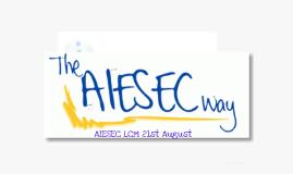 AIESEC LCM