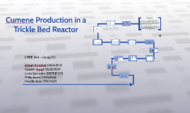 Cumene Production in a Trickle Bed Reactor