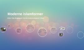 Moderne islamformer 2017