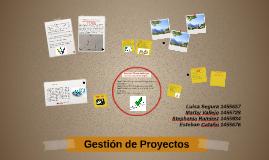 Gestión de Proyectos (Borrador)