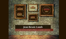 Jean Bessie Lumb