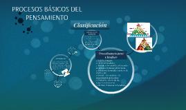 Copy of PROCESOS BÁSICOS DEL PENSAMIENTO
