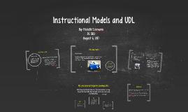 Instructional Models and UDL