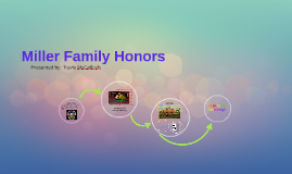 Miller Family Honors