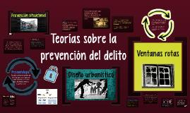Teorías sobre la prevención del delito