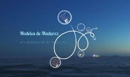 Copy of Modelos de Madurez en Administración de Proyectos