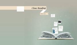 Copy of Close Reading