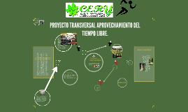 PROYECTO  C.E.R YARUMAL APROVECHAMIENTO DEL TIEMPO LIBRE