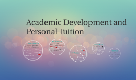Academic Development and Personal Tuition