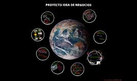 PROYECTO IDEA DE NEGOCIOS