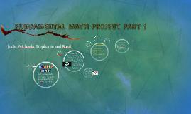 Fundamental Math Project Part 1
