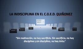 Copy of Indisciplina no Ensino Fundamental