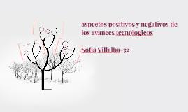aspectos positivos y negativos de los avances tecnologicos