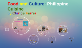 Food and Culture: Philippine Cuisine