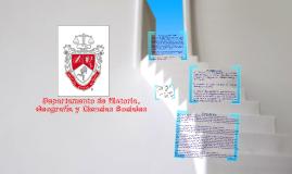 Presentación Historia, Geografía y Ciencias Sociales
