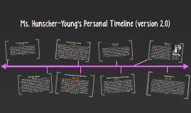 Ms. Hunscher-Young's Personal Timeline (version 2.0)