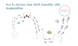 How to Survive Your First Semester with Organizaton