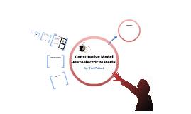 Constitutive Model of Piezoelectric Material