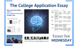Copy of Copy of E4: The College Essay