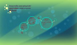 Copy of Desarrollo conceptual del curriculum como proceso historico