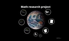Copy of Math presentation