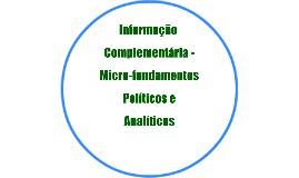 Determinantes de políticas públicas - 4 de dezembro