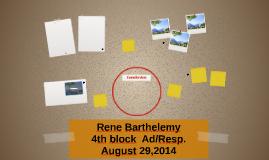 Rene Barthelemy