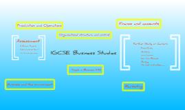 Copy of IGCSE Business Studies